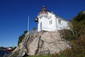 Der alte Leuchtturm von Kristiansand
