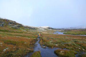 Stille Herbst- und Winterstimmung im Fjell